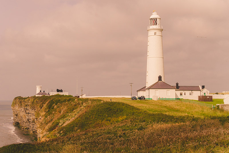 Nash Point Lighthouse, Vale of Glamorgan, South Wales